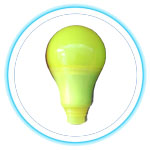 LED Color Bulb_YELLOW 02