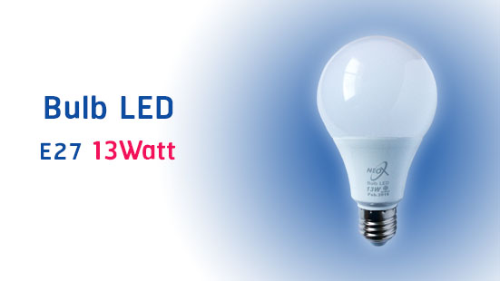 NEO X Bulb LED Product 13 Watt