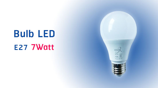 NEO X Bulb LED Product 7 Watt