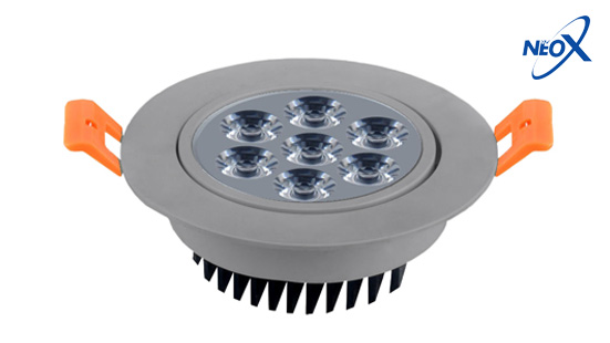 NEO X DownLight LED Product - DownLight ปรับองศาได้ ขอบขาว ขอบดำ ขอบเงิน02