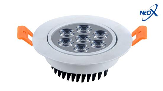NEO X DownLight LED Product - DownLight ปรับองศาได้ ขอบขาว ขอบดำ ขอบเงิน03