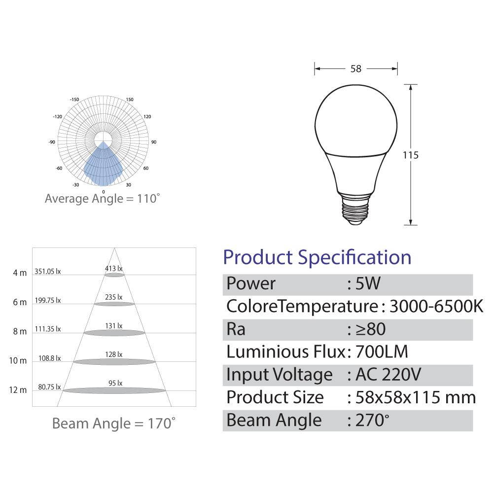 Bulb-LED-5-Watt