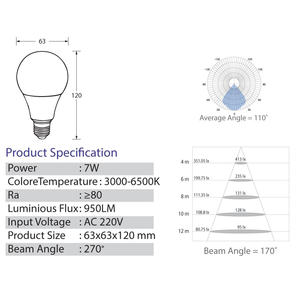 Bulb-LED-7-Watt