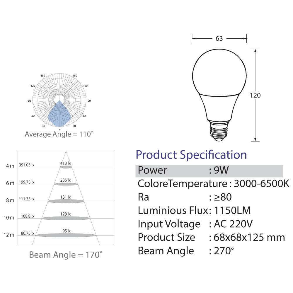 Bulb-LED-9-Watt