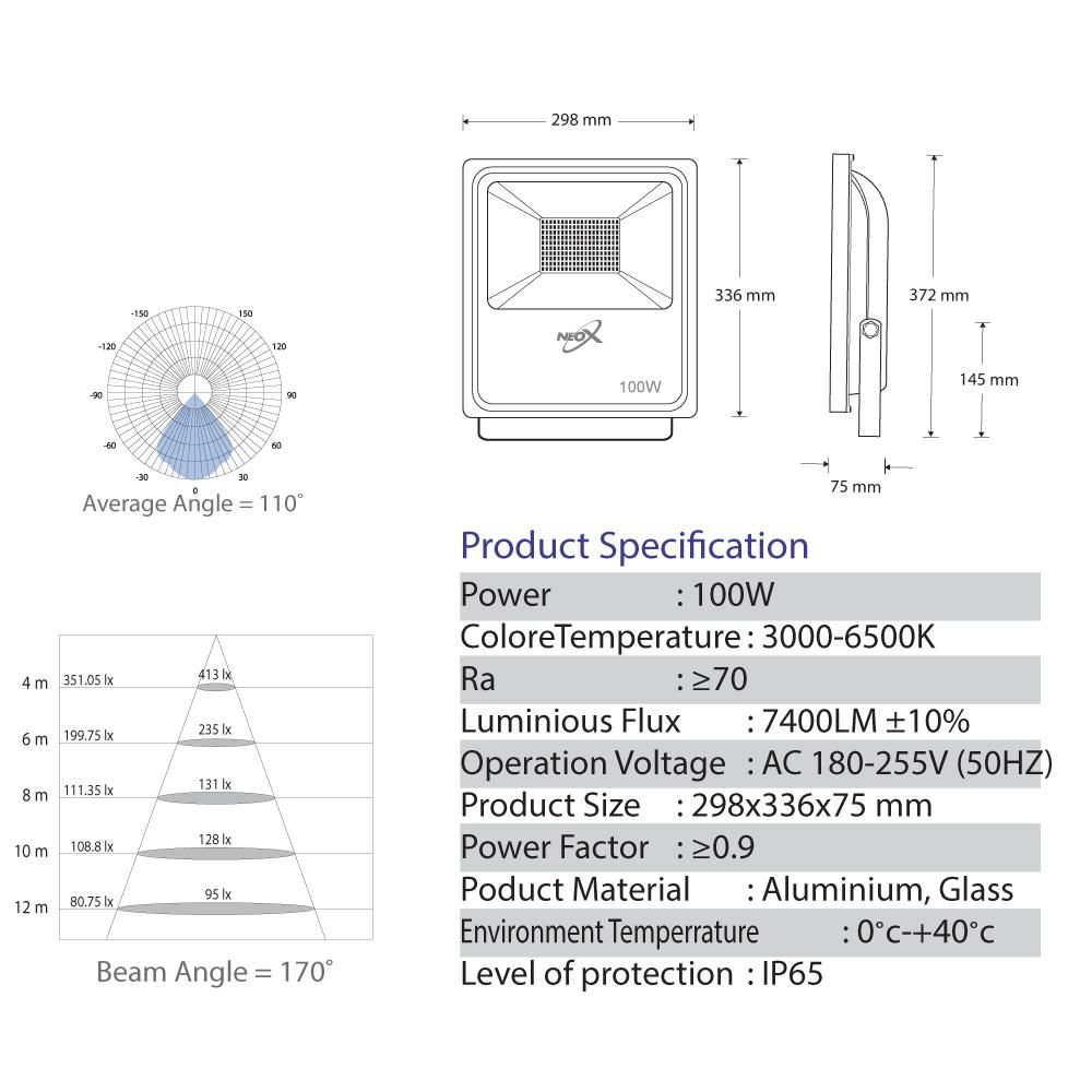 Spotlight-ECO-LED-100-Watt