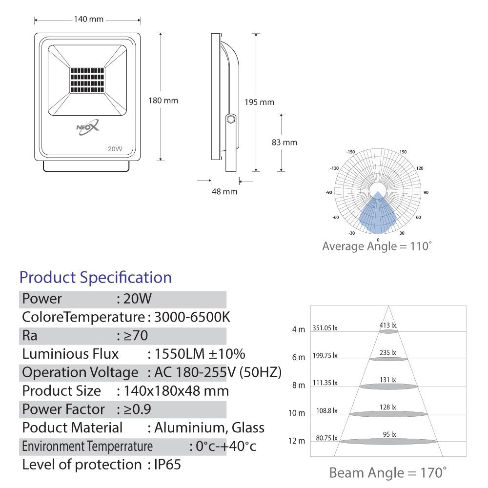 Spotlight-ECO-LED-20-Watt