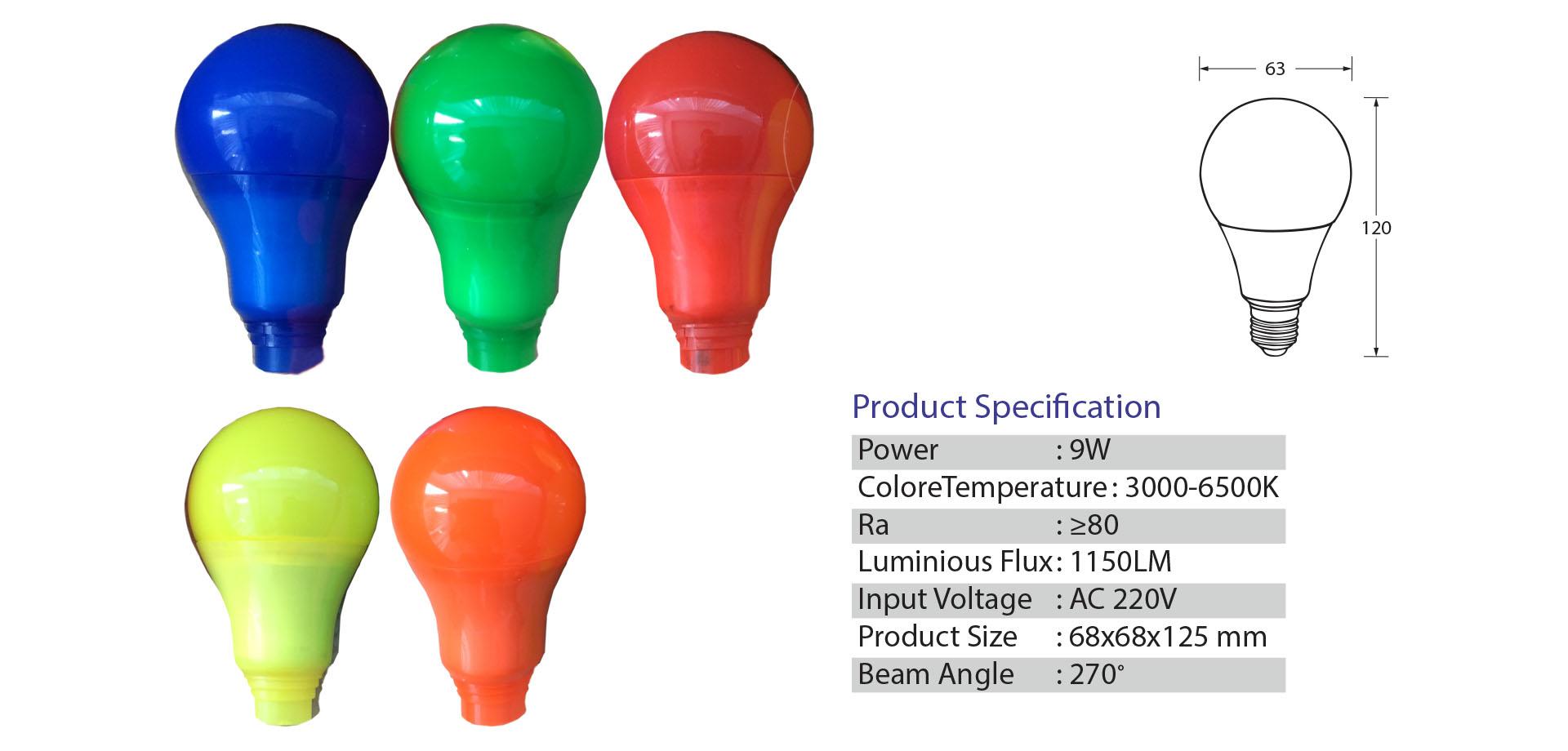 NEO X Bulb LED Product Color Bulb